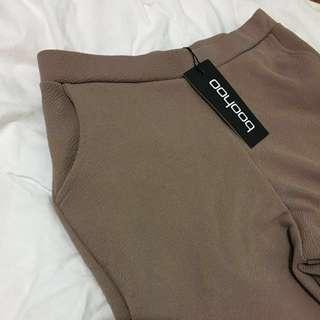 Boohoo Beige Trousers