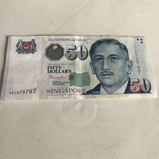S$50 note (979797)