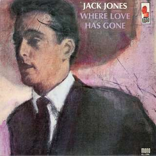 Jack Jones, Vinyl LP, used, 12-inch original (mostly USA) pressing