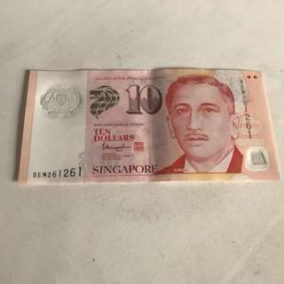 S$10 note (261261)