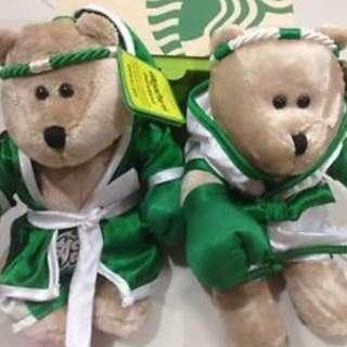 Starbucks Muay Thai bearista