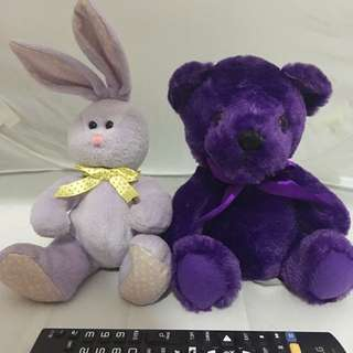 Teddy bear & Rabbit