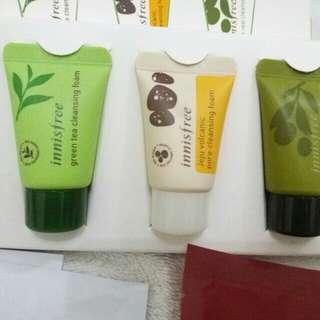 Innsifree facial foam trial ori from counter