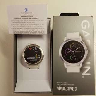 Garmin Vivoactive 3 White 行貨中文版