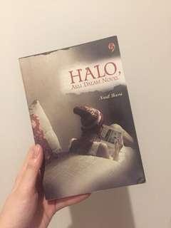 """Novel fiksi """"Halo, aku dalam novel"""""""