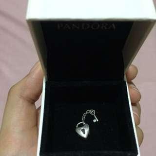 Key to my heart Pandora Charm