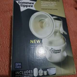 Tomme Tippee Closer to Nature Manual Breast Pump
