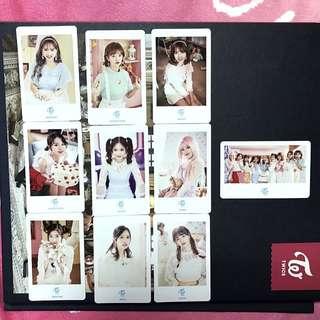 WTS Candy Pop Showcase Photocard Set