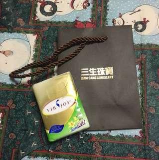 三生珠寶 吉袋 袋 紙袋 禮物袋