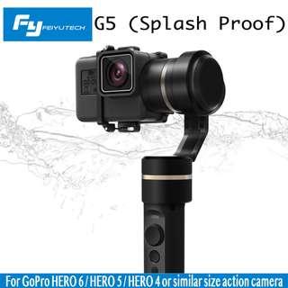 FeiyuTech G5 3-Axis Splashproof Handheld Gimbal for GoPro Hero  5 / 6  Action Cameras