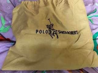 POLO水桶格仔手袋(大)