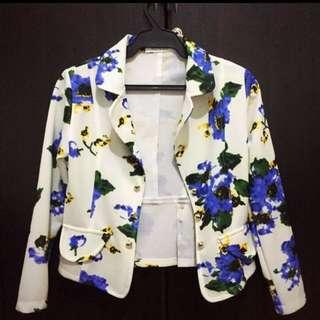 Lhasa floral blazer