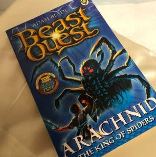 NEW Beast Quest: Arachnid