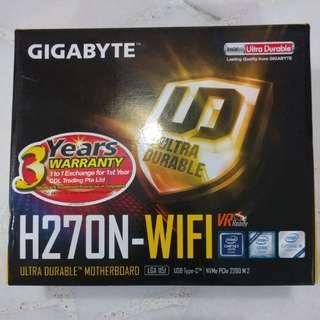Gigabyte H270N-Wi-Fi Motherboard