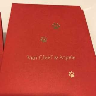 Van Cleef & Arpels red pockets 利是封