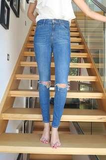 TOPSHOP Jamie Jeans 24
