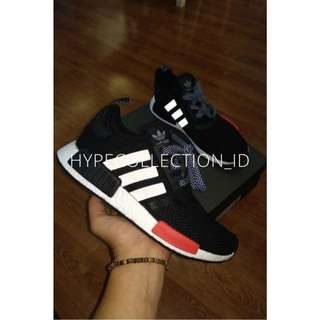 Adidas NMD R1 Foot Locker Black Red BASF BOOST UA ORIGINAL