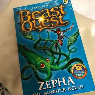 BN Beast Quest Zepha