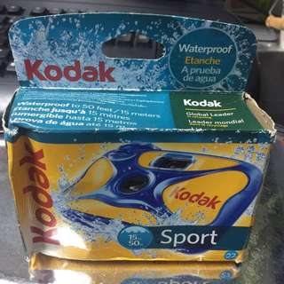 New Kodak Sport Waterproof Single Use Camera