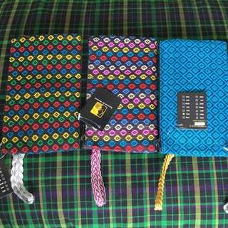 Handmade fabric pouches -$3each inclusive of normal postage.