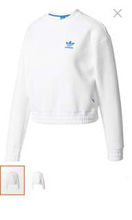 adidas originals sweatshirt 白色衛衣