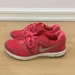 Nike: Neon shoes