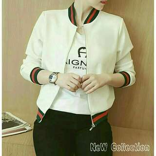 Jaket Girl List White
