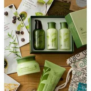 Innisfree Green Tea Package