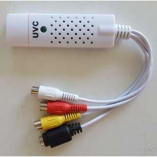 USB Analogue-to-Digital Audio/Video Converter