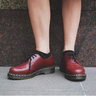 Used - Size 37 Wine Red Inspired Dr Marten Plus Oxford Classic Boot