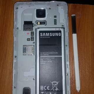 Samsung Galaxy Note4 defective