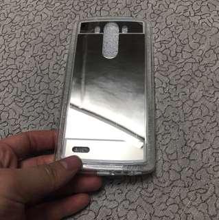 LG G3鏡面殻有mon 貼