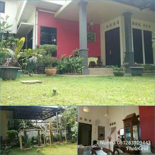 Rumah Tanah Luas 443 m2 di Komplek Kodau Sudah Diasuransikan