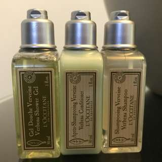 LOCCITANE TOILETRIES BATH SHOWER SET 30ML
