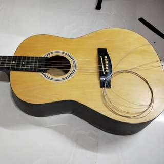 Acoustic Guitar Restring/Repairing Services