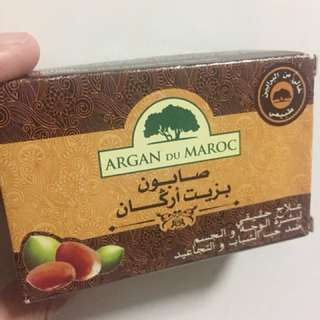 Argan oil soap (Morocco)
