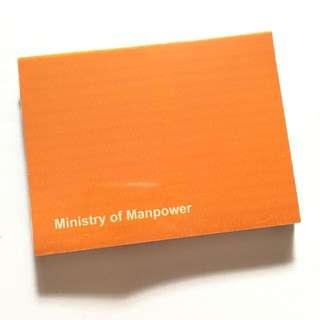 Post-it Notes from Ministry of Manpower (MOM)