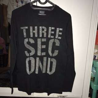 3scnd tshirt long sleeve