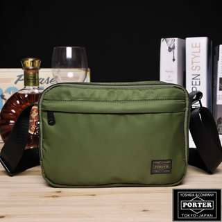 💥CHEAPEST - PORTER Double Zipper Sling Bag