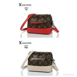 New Arrival LV Speedillo 113-1.  Size 18x15x12cm.  Material PU Leather.  Quality Semipremium.  Wieght 450 gram .  1pcs 190.000