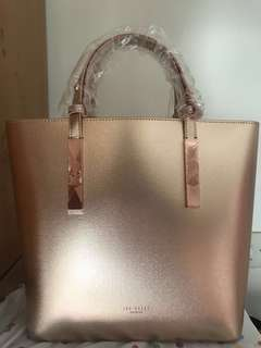 Ted Baker JACEYY Embossed detail leather shopper bag