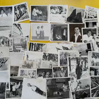 50 PHOTOS LOT - india vintage b/w Black & White Photo for collection - Children - Marriage Function & Get Together & so on