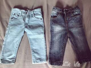 KOMBO jeans 6-12m