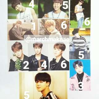 JIMIN (BTS) OFFICIAL PHOTOCARD COLLECTION