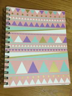 Typo Pink A5 Notebook
