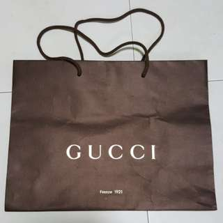 1502 Gucci Paper Bag