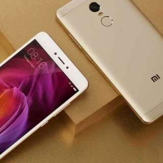 Redmi Note 4X, 4+64G, Champagne Gold, Global Version. Xiaomi / Mi