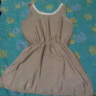 Dress mini brown