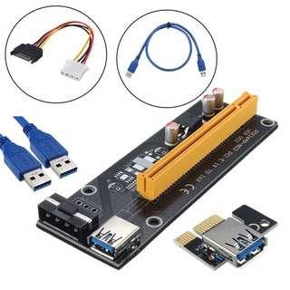 (Instock) PCI-E Risers