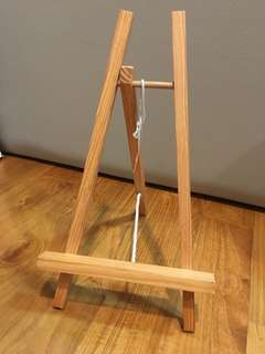 Mini Wooden Easel/Stand